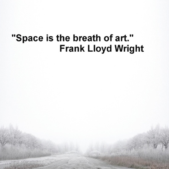 space is the breath of art