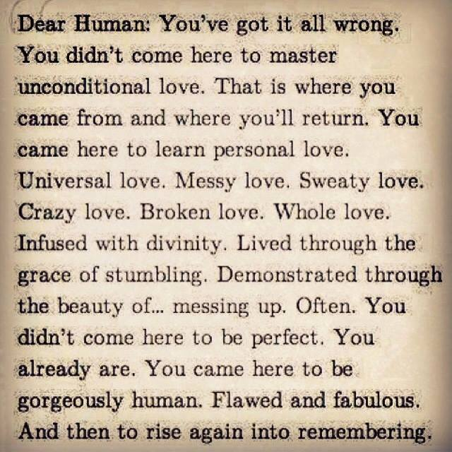 Dear Human Courtney A. Walsh